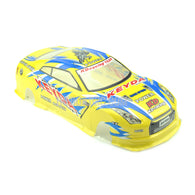 1/10 Painted RC Car Body With Rear Spoiler