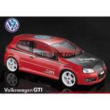 1/10 Volkswagen GTI PC Transparent 190mm RC Car Body