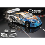1/10 Mazda Competition Version PC Transparent 200mm RC Car Body