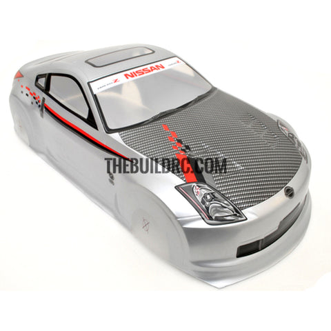 1/10 Nissan Fairlady Analog Painted RC Car Body (Grey)