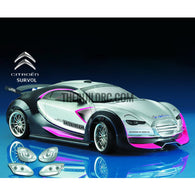 1/10 CITREN SURVOL PC Transparent 190mm RC Car Body