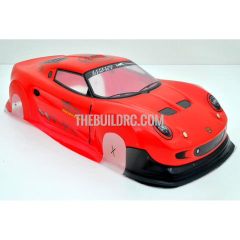 1/10 Lotus Exige S PVC Analog Painted Car Body