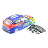 1/10 FORD Focus WRC PVC Analog Painted Car Body