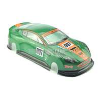 1/10 Aston Martin DBR9 PVC Analog Painted RC Car Body