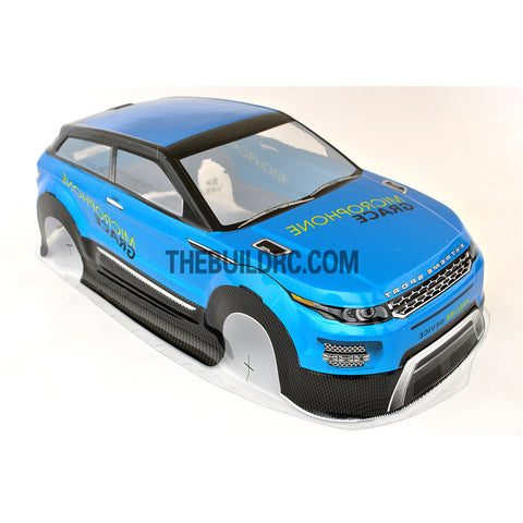 1/10 Land Rover LRX Concept Sport Analog Painted RC Car Body - Blue