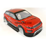 1/10 Land Rover LRX Concept Sport Analog Painted RC Car Body - Red