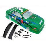 1/10 NISSAN DM13 Silvia S13 Analog 195mm PVC Printed RC Car Body - Green
