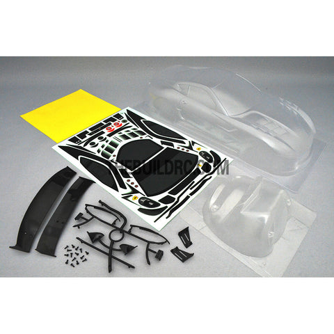 1/10 FERRARI 599XX PC Transparent 195mm RC Car Body