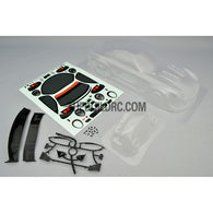 1/10 RE M7 Japan Racing Motorsports PC Transparent 185mm RC Car Body