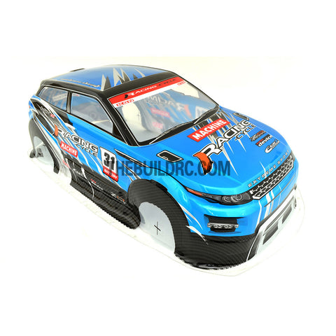 1/10 Land Rover LRX 2nd Generation Concept PVC 190mm RC Car Body - Blue