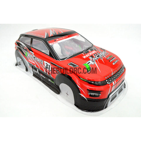 1/10 Land Rover LRX 2nd Generation Concept PVC 190mm RC Car Body - Red