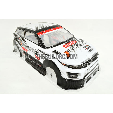 1/10 Land Rover LRX 2nd Generation Concept PVC 190mm RC Car Body - White