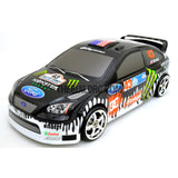 1/10 Ford Focus 185mm PC Finished RC Car Body with Decal / Spoiler  - Paint Drop Pattern