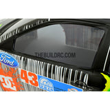 1/10 Ford Focus 185mm PC Finished RC Car Body with Decal / Spoiler / Light Box - Straightline Pattern