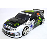 1/10 SUBARU IMRREZA WRX 185mm PC Finished RC Car Body with Decal / Spoiler / Light Box