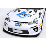 1/10 Lexus LF-A 200mm PC Finished RC Car Body with Decal / Spoiler / Side Mirror