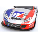 1/10 Honda HSV 190mm PC Finished RC Car Body with Decal / Spoiler / Side Mirror / Light Box - Silver