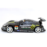 1/10 Honda HSV 190mm PC Finished Carbon Fiber Print RC Car Body with Decal / Spoiler / Side Mirror / Light Box