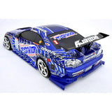 1/10 NISSAN S15 195mm PC Finished RC Car Body with Decal / Spoiler / Side Mirror / Light Box