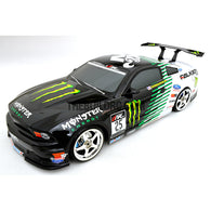 1/10 RC FORD MUSTANG BOSS 302 195mm PC Finished Car Body with Decal / Spoiler / Side Mirror
