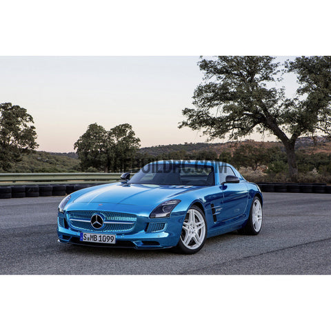 1/10 2014 Mercedes-Benz SLS AMG 190mm PC Transparent RC Car Body With Light Box