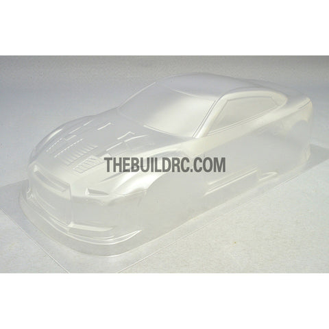1/10 2014 Nissan GTR R35 Skyline Version 195mm PC Transparent RC Car Body With Light Box