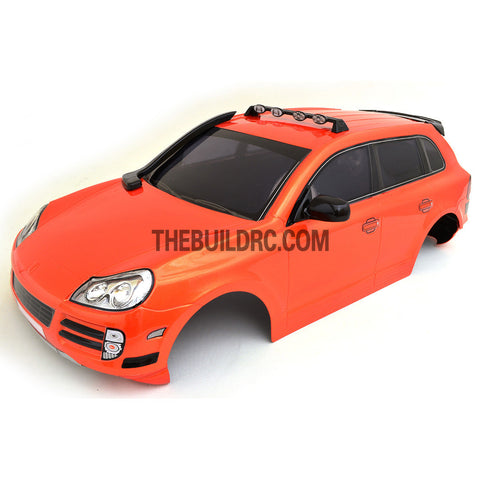1/10 Porsche Cayenne 185mm PC Finished RC Car Body with Decal / Spoiler / Side Mirror / Light Bruckets