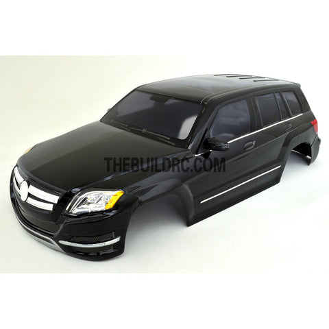 1/10 BENZ AMG C-COUPE PC 190mm Finished RC Car Body with Decal / Side Mirror / Light Bruckets - Black