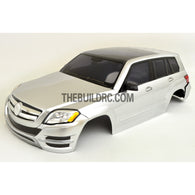 1/10 BENZ AMG C-COUPE PC 190mm Finished RC Car Body with Decal / Side Mirror / Light Bruckets - Silver