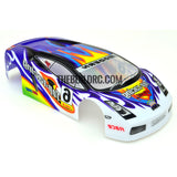 1/18 LAMBORGHINI DIABLO Analog Painted RC Car Body (Blue)