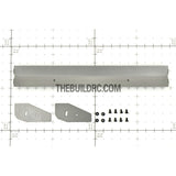 1/10 RC Racing Car 183x24mm Alloy Aluminum GT Wing Rear Spoiler - Grey