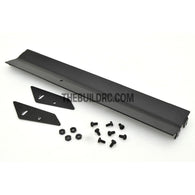1/10 RC Racing Car 155x26mm Alloy Aluminum GT Wing Rear Spoiler - Black