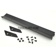 1/10 RC Racing Car 167x24mm Alloy Aluminum GT Wing Rear Spoiler - Black