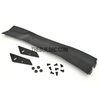 1/10 RC Racing Car 168x28mm Alloy Aluminum GT Wing Rear Spoiler - Black
