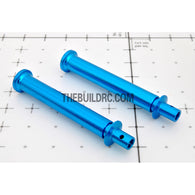 63mm Alloy Adjustable Body Stand / Pole (2pcs) - Blue