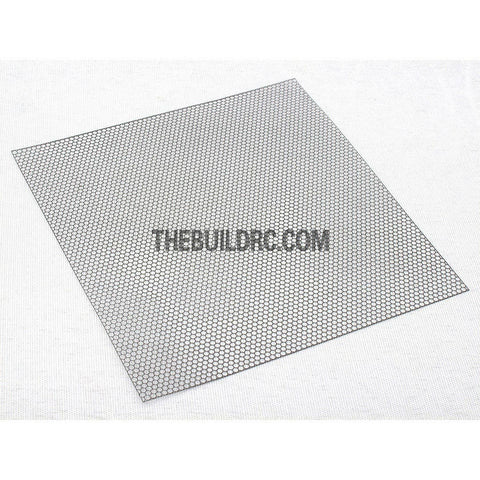 1/10 RC Car 95 x 100mm Honeycomb Shaped Stainless Steel Window Netting Net