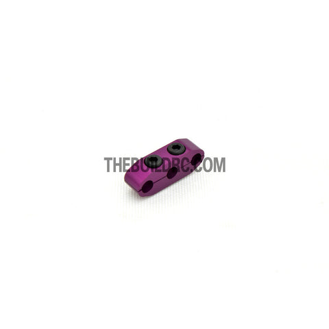 1/10 RC Racing Car CNC Alloy Wires Clip - Purple