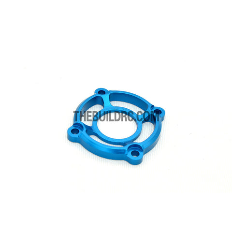 1/10 RC Racing Car CNC Alloy Cooling Fan Mount Stand - Light Blue