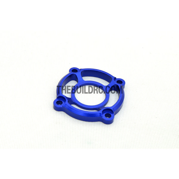 1/10 RC Racing Car CNC Alloy Cooling Fan Mount Stand - Blue