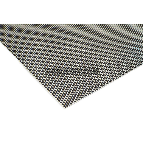 1/10 RC Car 100 x 100mm Small Honeycomb Shape Stainless Steel Stripe Window Netting Net