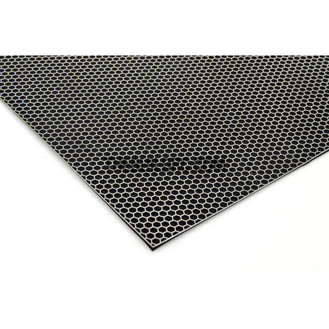 1/10 RC Car 100 x 100mm Big Honeycomb Shape Stainless Steel Stripe Window Netting Net