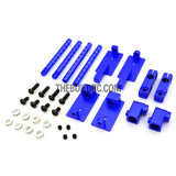 1/10 RC Car Height Adjustable Alloy Stealth Body Stand / Mount - Dark Blue