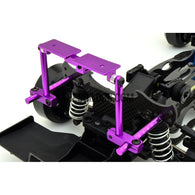1/10 RC Car Height Adjustable Alloy Stealth Body Stand / Mount - Purple