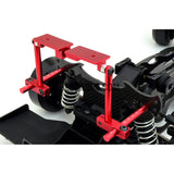 1/10 RC Car Height Adjustable Alloy Stealth Body Stand / Mount - Red