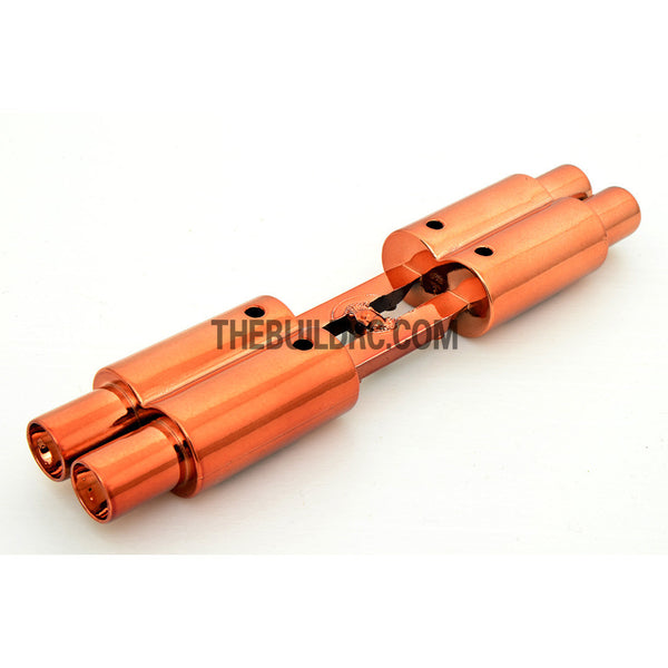 Twin Exhaust Pipe Dummy for 1/10 RC Racing Car - Copper