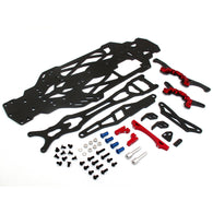 1/10 RC Car YOKOMO Drift TD10 TYPE C Carbon Fiber Upgrade Kit - Black