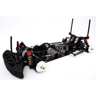 1/10 RC Car Yokomo Mission-D Drift Carbon FIber Chassis Hop Up Upgrade Kit - Black