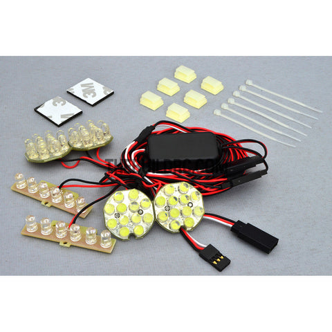 GT Power RC 1/5th & 1/8th Off-Road Vehicle lighting System