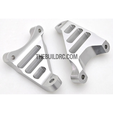 KM HPI Baja 5B 5T SS- Alloy front hub carrier1(Silver)