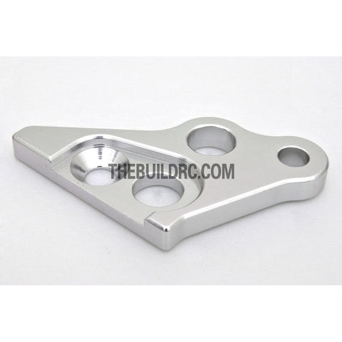 KM HPI Baja 5B 5T SS-Alloy Engine Mount (left) 5mm - Silver
